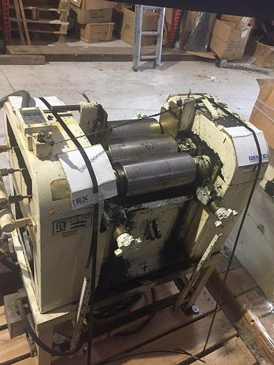 Used 4.5 in. x 10 in. ROSS THREE ROLL MILL (#9089)