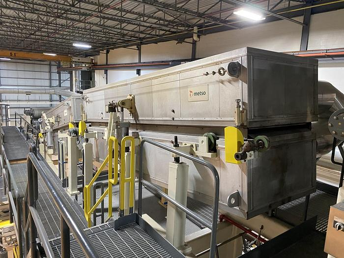 """Used (4) 30"""" VALLMET DRYERS FLOATION WITH COMPLETE AIR SYSTEM MFG 2000"""