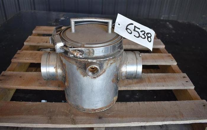 "Used USED 3"" ERIEZ MAGNETICS JACKETED MAGNET TRAP, STAINLESS STEEL"