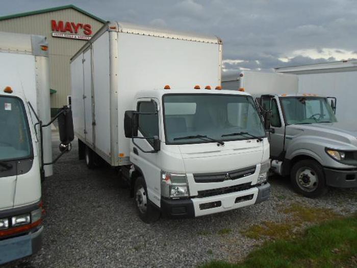 Used 2013 Mitsubishi Fuso FE160 Box Truck