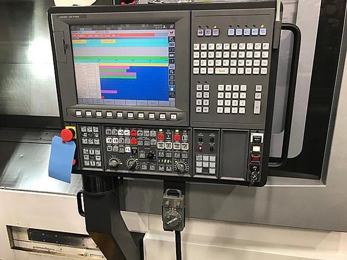 2015 OKUMA MULTUS B400ii-1500 FULL 5 AXIS CNC TURNING CENTER
