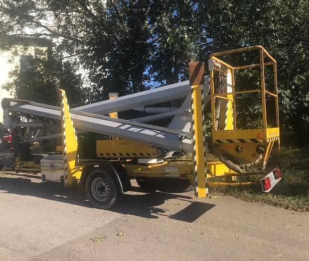 Gebraucht Niftylift 170 HE Anhängerarbeitsbühne