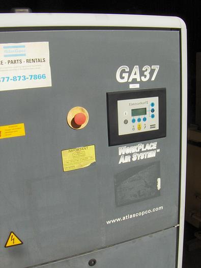 50 Hp Atlas Copco Rotary Screw Air Compressor