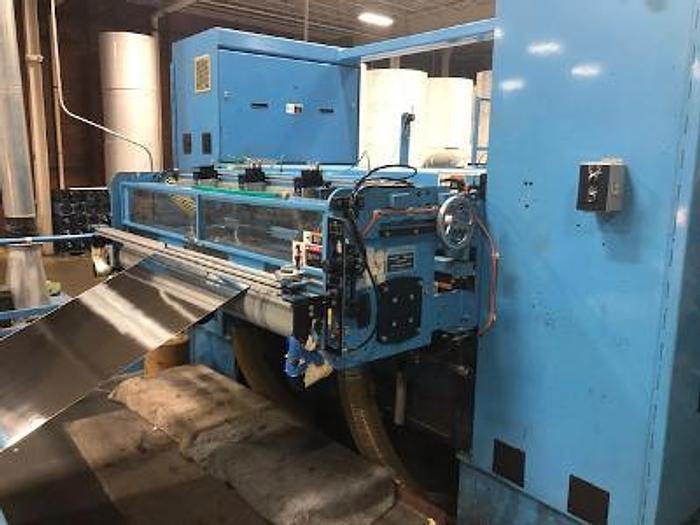 """Used 73"""" MARQUIP SHEETPRO PRECISION SHEETER CUT TO REGISTER"""