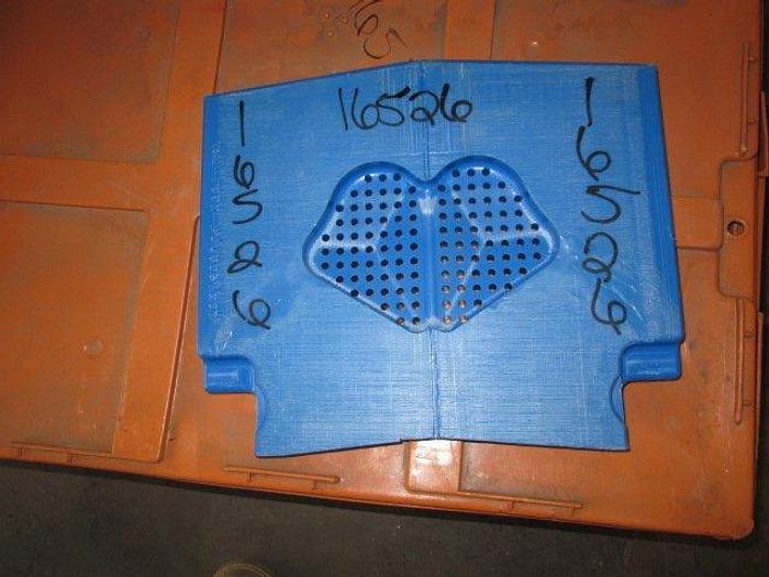Used Marel TSM Slicer Molds; 207grams