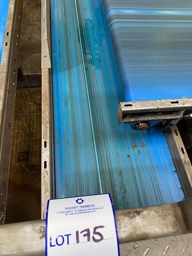Used Stainless Steel Conveyor Belt 3m L 0.7m W