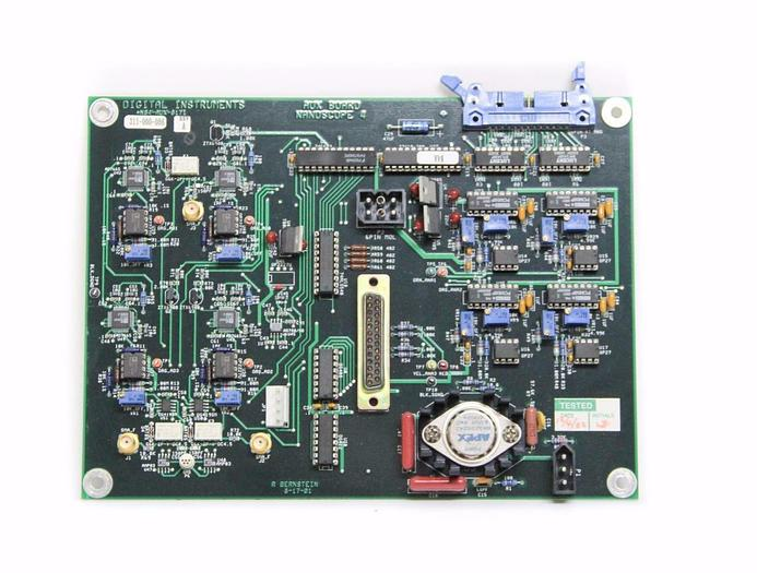 Used Digital Instruments Board for Nanoscope 4 NS4-AUX-8171 Rev. A, 311-000-086 (4326