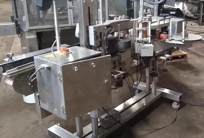 CVC 400 Front and Back Labeler
