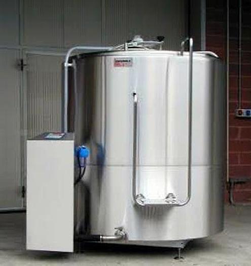 Refrigerated Milk Tank G10 1200 Ltr
