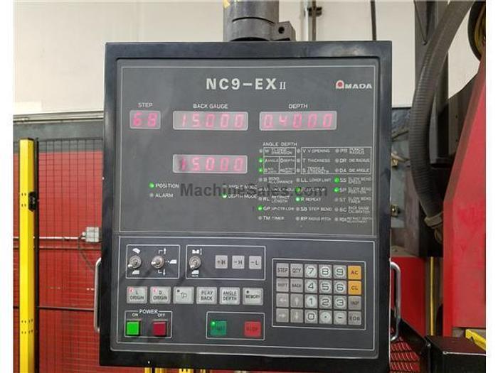 2001 88 Ton Amada RG-80 CNC Press Brake