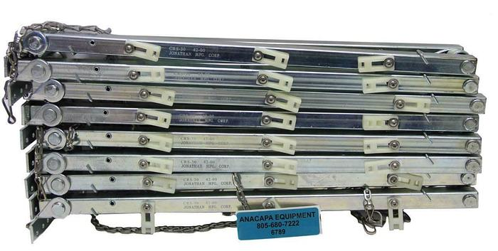 Used Johnathan Engineered Solutions CRS-30-42-00 Cable Retractor Lot of 8 (6789)W