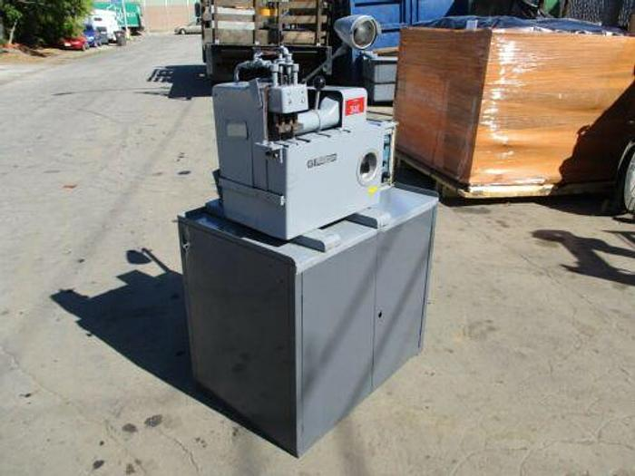 Used Struers / Discotom Metallurgical Saw with Coolant Pump