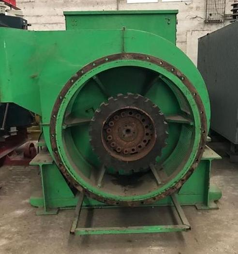 Leroy-Somer Alternator LSA 54 VL9/4P 3394 kVA  / 6300V / 50HZ / 1500 RPM