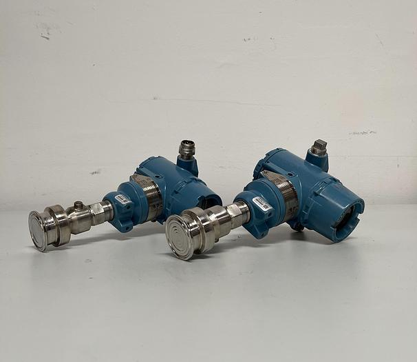 """Used Rosemount Smart Pressure Transmitter 3051TG2F2B21AS1Q8Q16M5IEQ4 w/ 2"""" Fitting"""