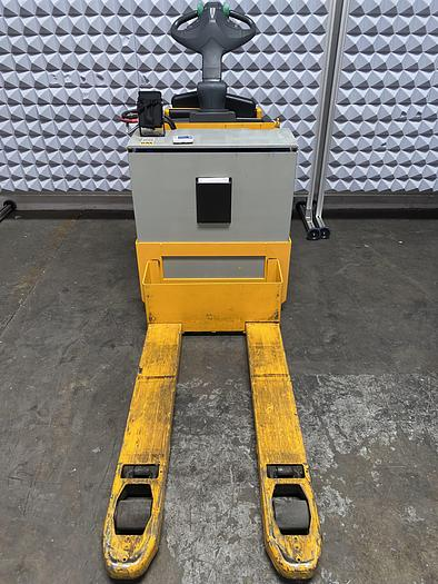 Used Jungheinrich ERE 225 Stand-On Electric Pallet Truck Jack 5500 LBS 6300 Hours w/ Charger
