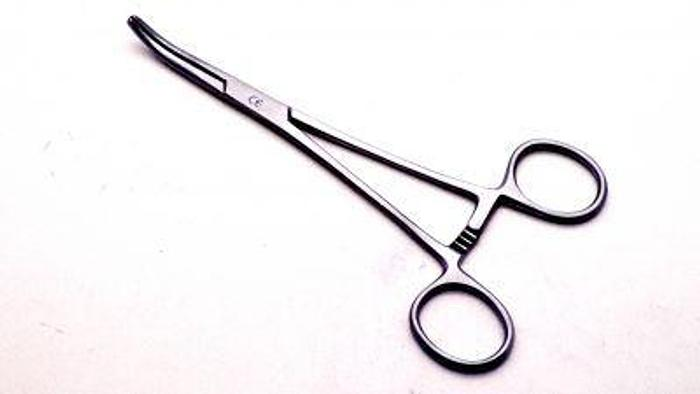 Used Forceps Artery Kilner Mosquito Curved 150mm (6in)
