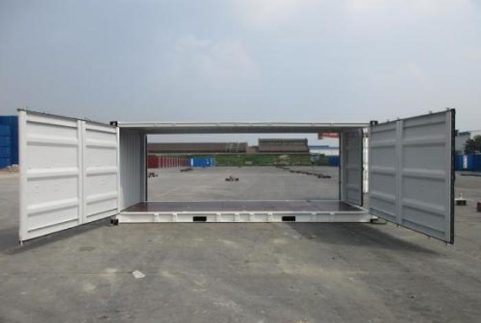 "20 'Container 8'6 ""Both sides Open"