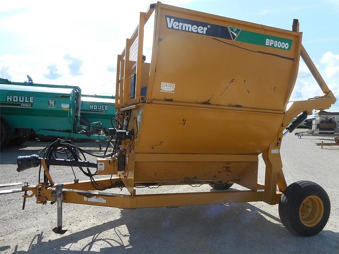 Used VERMEER BP8000 Bale Processor