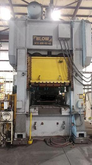 Used 400 TON BLOW SSDC PRESS
