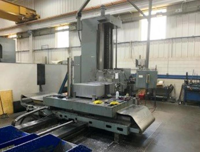 """Used 6"""" Giddings & Lewis CNC Horizontal Boring Mill, Model 70H-6T, Table 60"""" X 98"""", X=80"""", Y=60"""", 1120 rpm, 30 hp"""