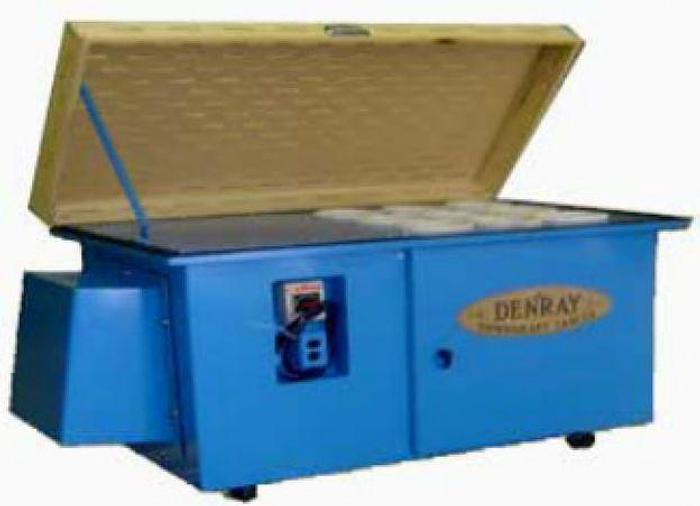 Used Denray 2800 Downdraft Table