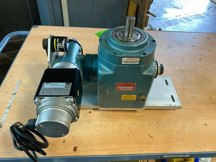 New Old Stock Camco 401RA8H24-90 Indexing Drive With KeB Servo Motor + Encoder