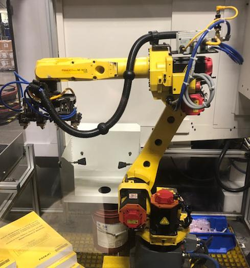 FANUC M10iA/10MS 6 AXIS CNC ROBOT WITH R30iB
