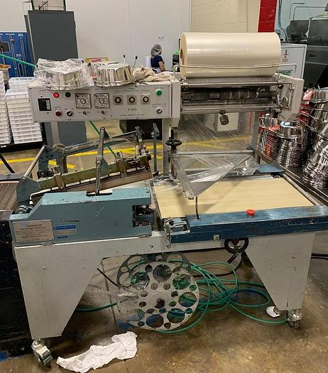 Used CONFLEX AUTOMATIC SHRINK WRAP SYSTEM