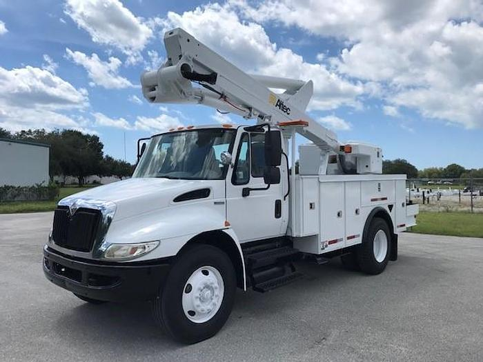 Used Altec TA45M 50ft Bucket Boom on 2009 International 4300 Utility Truck - C91761