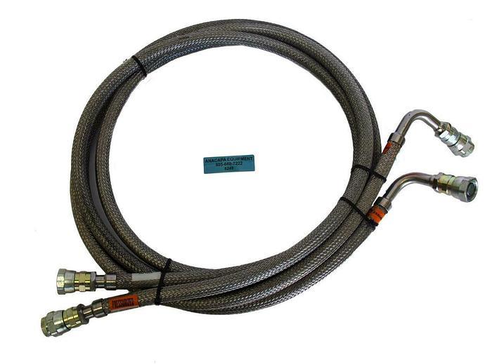 Used CTI Cryogenics 8043074G120,024-01L Supply & Return Line, PSI 260 Lot of 2 (8249)