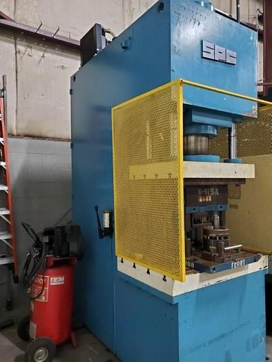 Used SPC MODEL CPS-200 200 TON HYDRAULIC PRESS