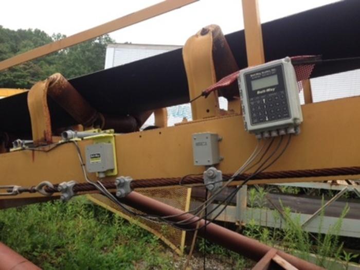 2002 Clausen 30 X 50 Portable Radial Stacking Conveyor