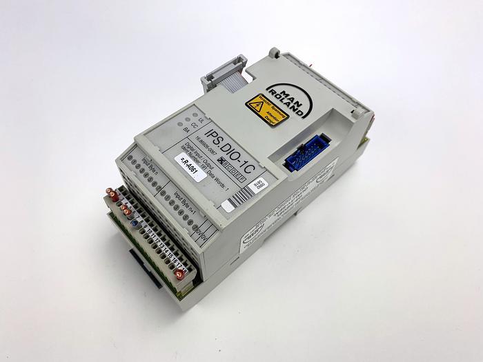 Used MANROLAND IPS.DIO-1C  Digital Input/Output Module