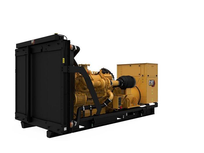 Used 880 kW 2010 Caterpillar C32 Diesel Generator