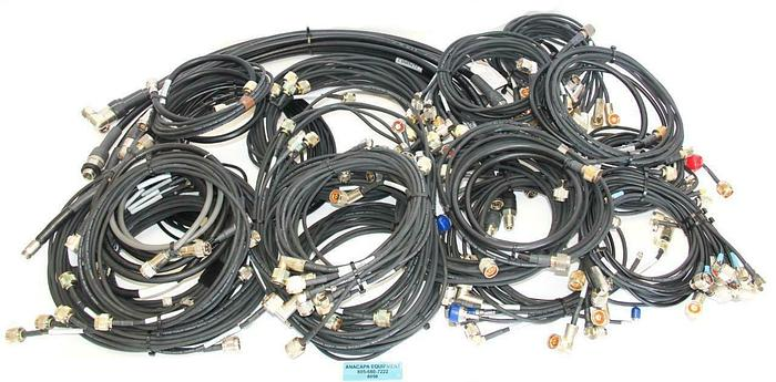Andrews, Coleman & Pasternack Enterprises RF Cables Mixed Lot of 100 (8050)w