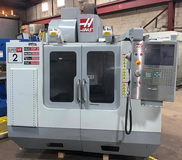 "Used 30""X, 20""Y, 20""Z, HAAS, 2007, VF-2SS, CNC VERTICAL MACHINING CENTER"