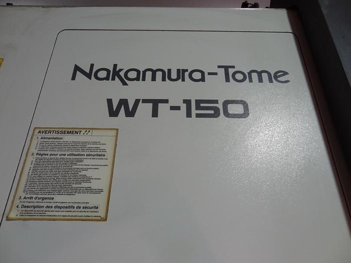 NAKAMURA TOME WT150 CNC MULTI AXIS LATHE