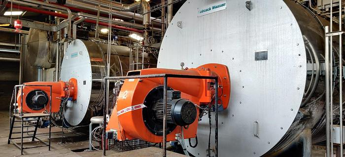 Used BABCOCK WANSON steam boiler