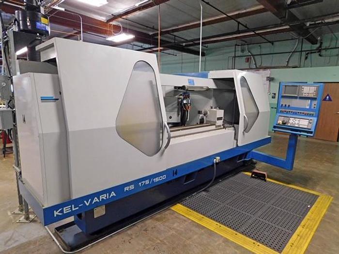 Used KELLENBERGER KEL VARIA RS 175/1500 CNC UNIVERSAL CYLINDRICAL GRINDER #5667
