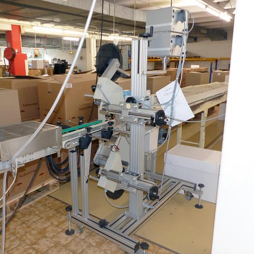 Gebraucht gebr. Etikettiermaschine ADE Type ECO-2, Type ECO-2 Baujahr 2005