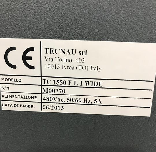2013 Tecnau Dynamic Perforator / Processor TC 1550 FL1 WIDE