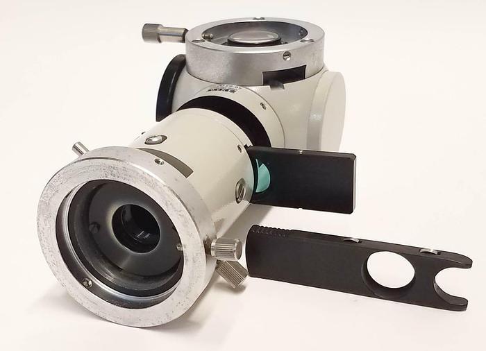 Used Zeiss Microscope Fluorescence Illuminator Column 46 60 00-9901 (5923)