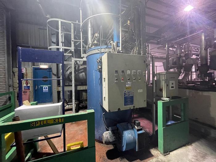 Used BABCOCK WANSON 1000B Thermal Fluid Heater