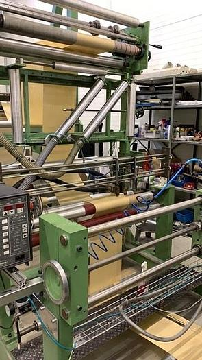 Used HOLWEG RS 21 BAG MACHINE WITH 6 COLOR FLEXO PRINT UNIT