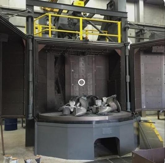 Used 2004 PANGBORN 10LK-3 TABLEBLAST CLEANING MACHINE