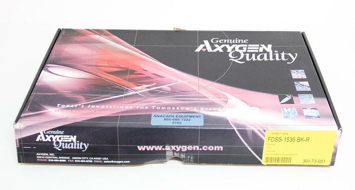 Axygen 1536-well tips 50µL Black Non-filtered Non-sterile Fine Point SLAS (6165)