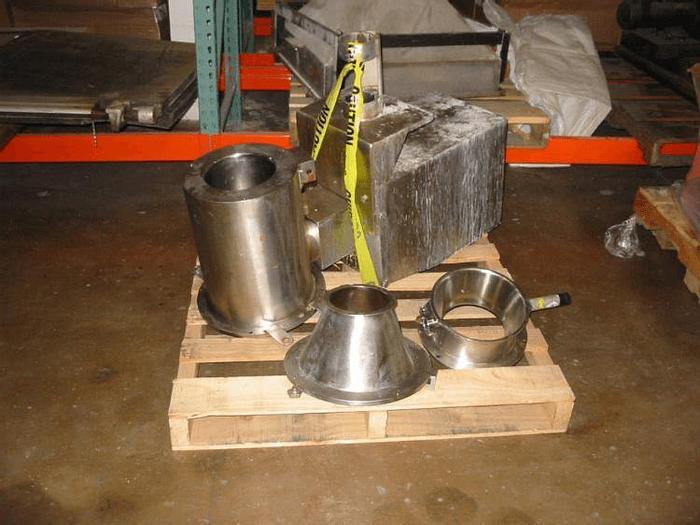 Used GLATT GSF-180 UNDERDRIVEN ROTOR SIEVE – SANITARY S/S