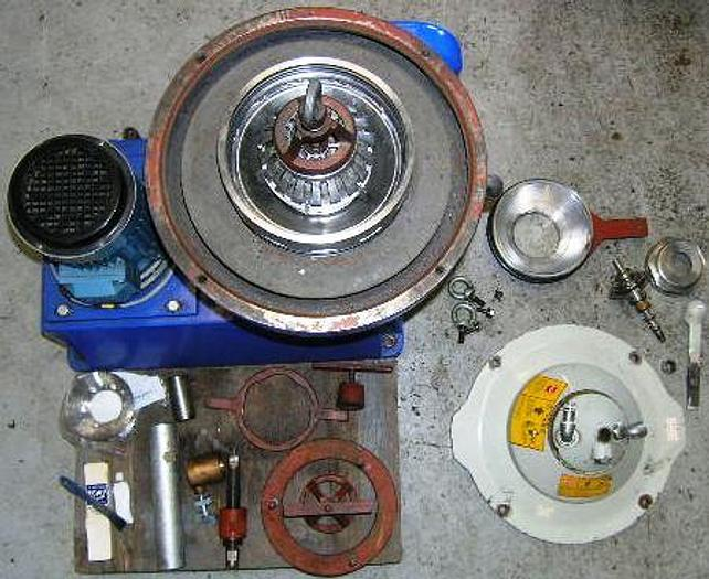 Used Alfa Laval WSPX 403TGP-61G separator