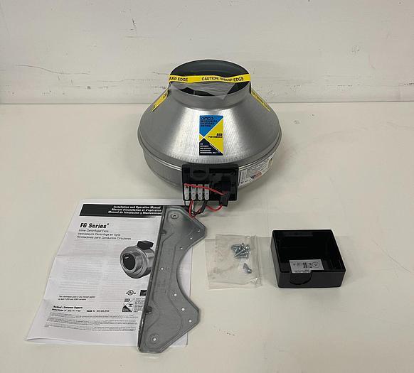 "Fantech FG6 Inline Centrifugal Fan 6"" Duct 120V"