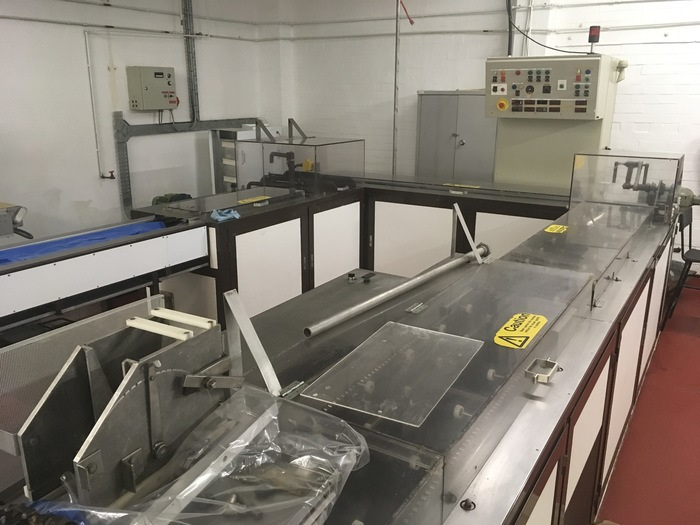 Hacos Chocolate Shell Moulding Line